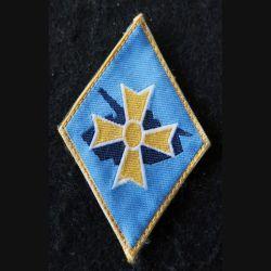 1° DB : insigne tissu de la 1° division blindée avec scratch