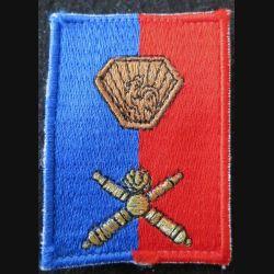 B ART : insigne en tissu de la brigade d'artillerie sur scratch