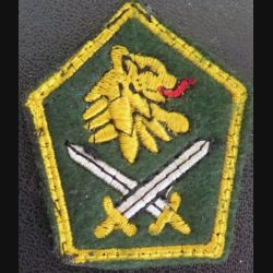 Insigne tissu de col unités de combat du Cameroun
