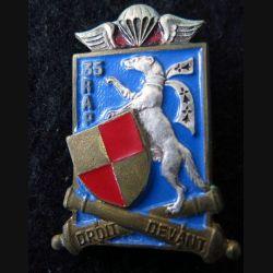 35° RAP : insigne du 35° régiment d'artillerie parachutiste de fabrication Drago Paris H. 547 peint
