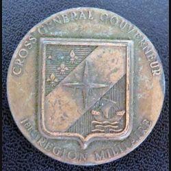 1° RM : médaille du cross général du gouverneur de la 1° région militaire fab Gloria