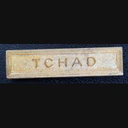 """Barrette métallique  """"TCHAD"""" dorée"""