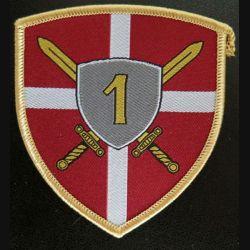 SERBIE : insigne de la 10° brigade militaire serbe (Land Forces)