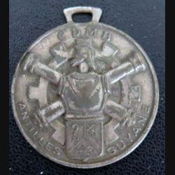 porte clefs de la CDMB Antilles Guyane 3,5 cm de fabrication FIA sans accroche