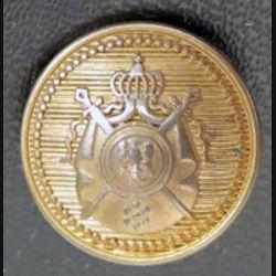 bouton d'uniforme inconnu diamètre 2 cm