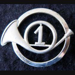 1° RCH : Insigne béret du 1° régiment de chasseurs fabrication Drago Paris
