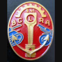 641° BCLRA : 641° bataillon colonial lourd réparation armement Augis peint