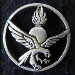 COMMANDO DE CHASSE GEND  : insigne de béret du commando de chasse de la gendarmerie (retirage)