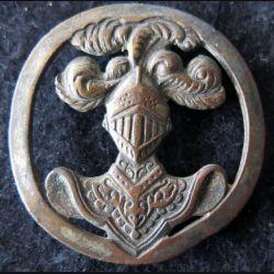 ABC : insigne de béret de l'arme blindée cavalerie de fabrication Aubert et Cie