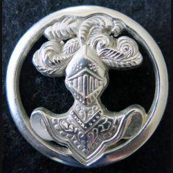 ABC : insigne de béret de l'arme blindée cavalerie de fabrication Boussemart