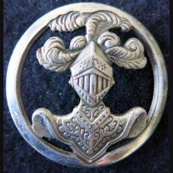 ABC : insigne de béret de l'arme blindée cavalerie de fabrication Béraudy-Vaure