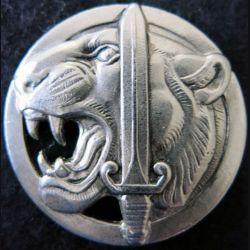 COMMANDO 610 : insigne métallique de béret du commando 610 retirage