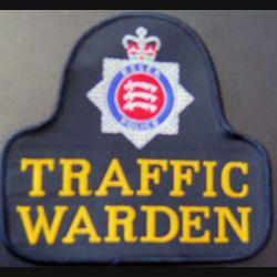 POLICE GB : insigne tissu traffic garden  de la police d'Essex