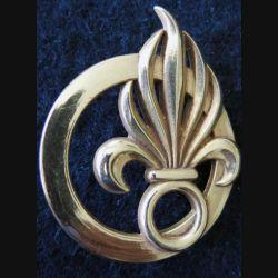 COMLE : insigne de béret du commandement de la Légion étrangère de fabrication Coinderoux G. 3840
