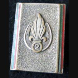 2° REI : 2° régiment étranger d'infanterie Drago Paris émail