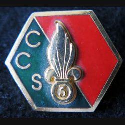 3° REI : insigne de la compagnie cdt et services type 1 du 3° régiment étranger d'infanterie Destrée
