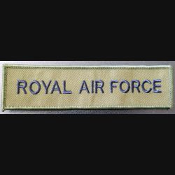 GB : bande tissu de la Royal Airt Force