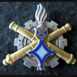 10° CSM : 10° compagnie saharienne du Matériel Drago Paris G. 1447 en émail