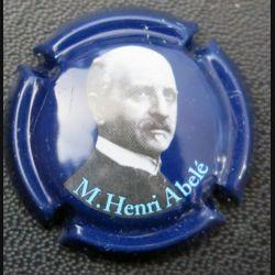 Capsule Muselet de bouteille de champagne M. Henri Abelé (L2)