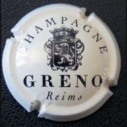 Capsule Muselet de bouteille de champagne Greno blanc cassé et noir (L2)