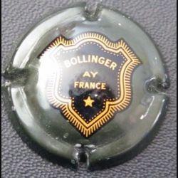 Capsule Muselet de bouteille de champagne Bollinger kaki rayé (L2)