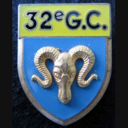32° GC : 32° Groupement de camp Fraisse G. 2092 en relief