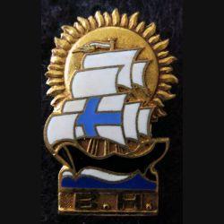 BHM : Base Hébergement de Marseille Drago Paris G. 1272 en émail