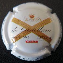 Capsule Muselet de bouteille de champagne de Castellane 90e (L3)