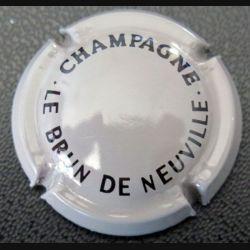 Capsule Muselet de bouteille de champagne Le Brun de Neuville (L3)