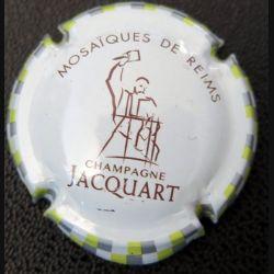 Capsule Muselet de bouteille de champagne Jacquart mosaîques de Reims  (L3)