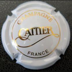 Capsule Muselet de bouteille de champagne Cattier Blanc (L3)