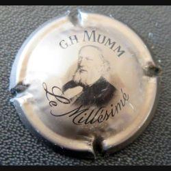 Capsule Muselet de bouteille de champagne G.H Mumm le millésimé  (L3)