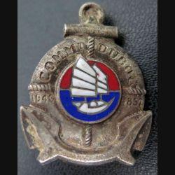 COMM DUBOC : insigne de l'aviso dragueur Commandant Duboc Drago Olivier Métra émail