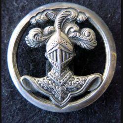 ABC : insigne de béret de l'arme blindée cavalerie de fabrication Arthus Bertrand Paris