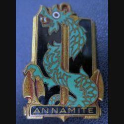 ANNAMITE : aviso dragueur Annamite de fabrication Courtois en émail