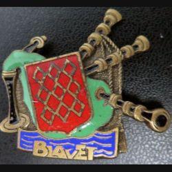 BLAVET : insigne du bâtiment de débarquement de Chars émail