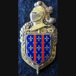 2° GGM ARCUEIL : 2° groupement de gendarmerie mobile d'Arcueil de fabrication Drago Paris H. 696 émail