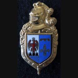 CCRG PACA : commandement de circonscription régionale de la gendarmerie Provence Côte d'Azur fabrication Beraudy H. 696 émail