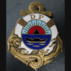 DP SAIGON : direction du Port de Saïgon Drago Paris Nice émail