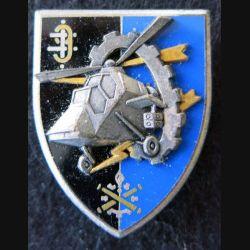 9° RSA : insigne métallique du 9° régiment de soutien aéromobile de fabrication Fraisse G. 3449