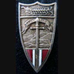 192° DI : Insigne métallique de la 192° division d'infanterie du Levant sans fabricant en émail en émail