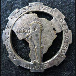 12° RCA AOF : 12° régiment de chasseurs d'Afrique Audace n'est pas déraison Sénégal