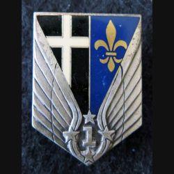 1° RHC : insigne du 1° régiment d'hélicoptères de combat de fabrication Drago G. 2265 dos guilloché