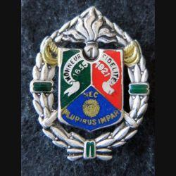 1° REC : insigne métallique du 1° régiment étranger de cavalerie de fabrication Drago Paris