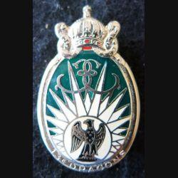 13° RDP : insigne métallique du 13° régiment de dragons parachutistes fabriqué par Drago Paris G. 983