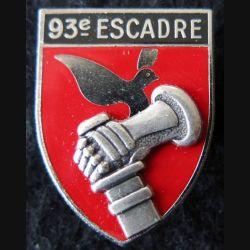 93° EB : insigne 93° Escadre de Bombardement de fabrication Delsart Sens  A. 915