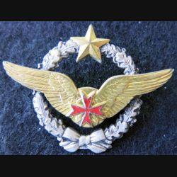 ARMÉE AIR : insigne métallique brevet convoyeuse de l'Air Drago Paris 43 mm