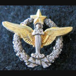 ARMÉE AIR : insigne métallique du pèlerinage militaire de Lourdes ABP 30 mm