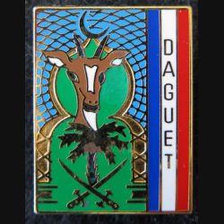 EMIA DAGUET : insigne métallique de l'état major interarmées de l'Opération DAGUET de fabrication Coinderoux