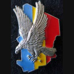ÉPERVIER : insigne métallique monobloc de l'opération épervier de fabrication FIA Lyon